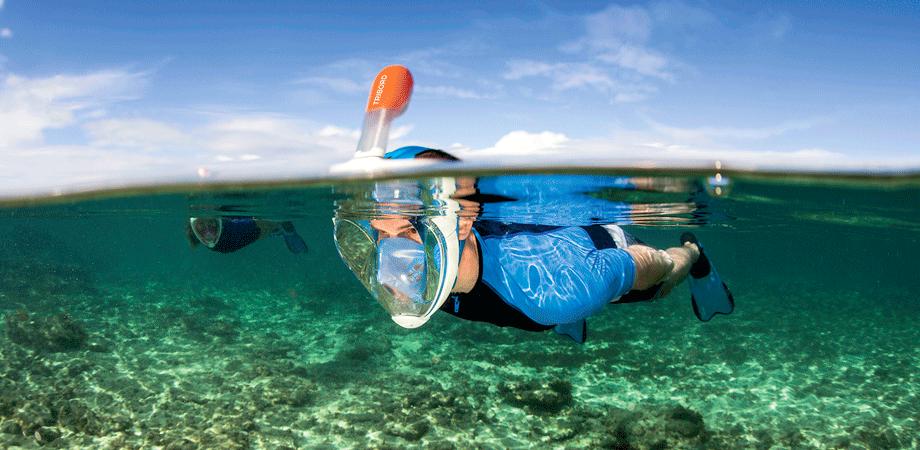 cfbf88db7 Conheça a máscara de snorkeling EASYBREATH • Decathlon