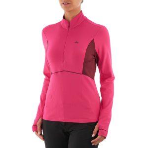 Roupas de frio primeira camada, blusa segunda pele feminina rosa