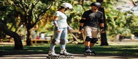 c0f727d04 Aula de como andar de patins