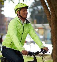 prática de ciclismo em segurança na cidad