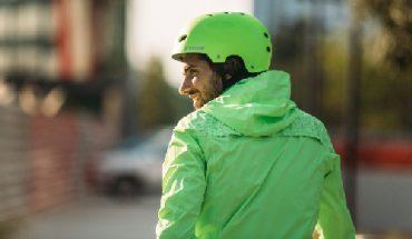 detalhe de vestuário de bicicleta urbana