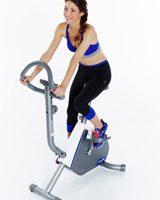 o rolo de treino versus bicicleta ergométrica