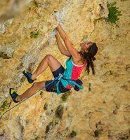 tipos de escalada: esportiva