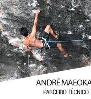Parceiro Técnico e Escalador André Maeoka