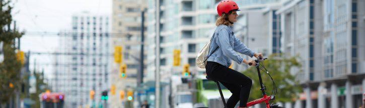 bicicleta pela cidade