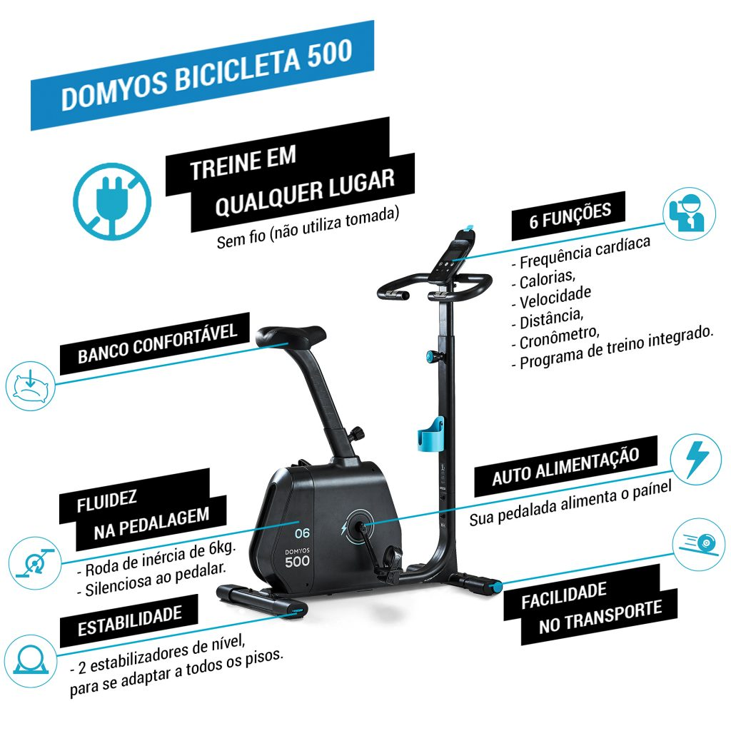 Bike Ergométrica 500