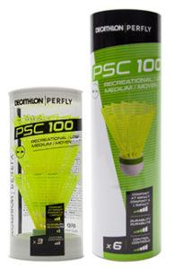 Petecas de badminton de plástico Perfly PSC100