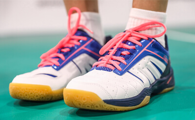 calcados para badminton Perfly BS560