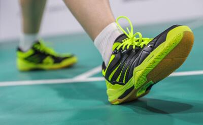 calcados para badminton Perfly BS590