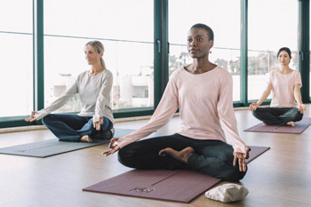 Tapete de Yoga leve ou restaurativa