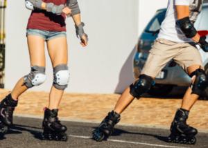 Casal Andando de Patins em post 9 Benefícios de Andar de Patins