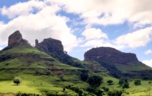 Vista do Mirante das Três Pedras de Botucatu