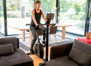 Bike ergométrica treino cardio para iniciantes