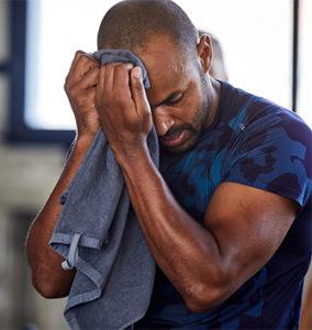 importância da hidratação no treino cardio na hora do suor