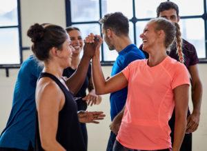 treino cardio para iniciantes com amigos