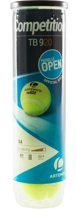 tubo de Bolas de Tênis de Pressão para Competição, ideal para tenistas que disputam torneios