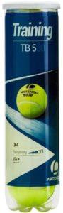 Tubo de Bolas de Tênis de Pressão para treinamento, ideal para jogadores com experiência