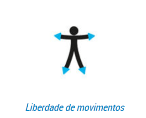 boneco representa liberdade de movimentos
